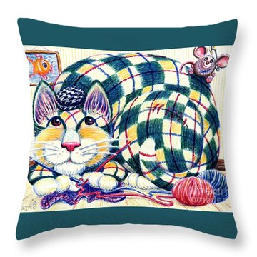 Argyle Throw Pillow