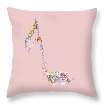 Aria T-shirt Throw Pillow by Herb Strobino