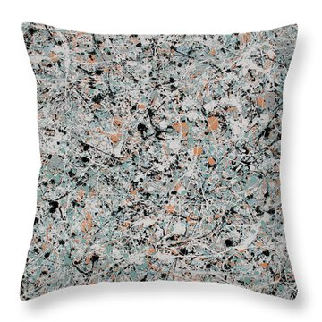 Aria Throw Pillow by Jaison Cianelli