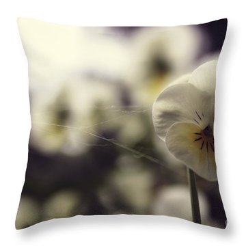 Throw Pillow featuring the photograph Ariadne's Thread by Cendrine Marrouat