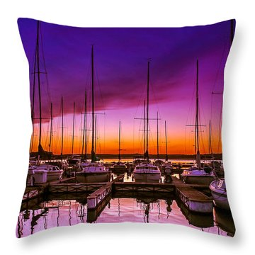 Ariana's Sunset Throw Pillow
