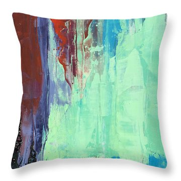 Arise Throw Pillow by Nathan Rhoads