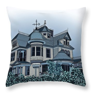 Aristocrat 2 Throw Pillow by Megan Dirsa-DuBois