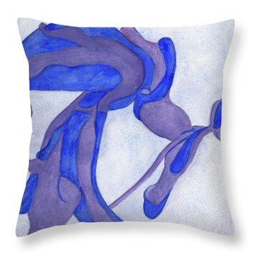 Aristolochia Throw Pillow