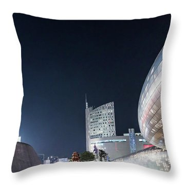 Aritficial Daylight Throw Pillow