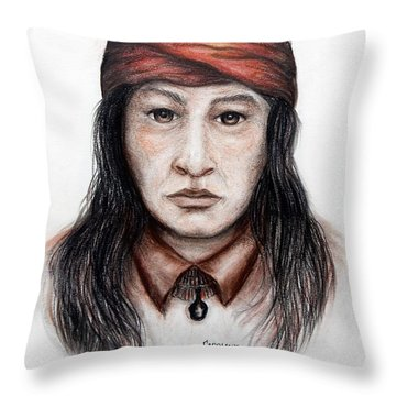 Arizona Apache Throw Pillow