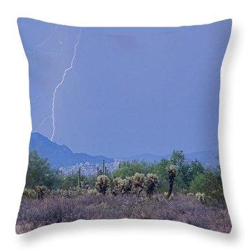 Arizona Desert  Throw Pillow by James BO  Insogna