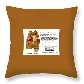 Arizona Memories Throw Pillow