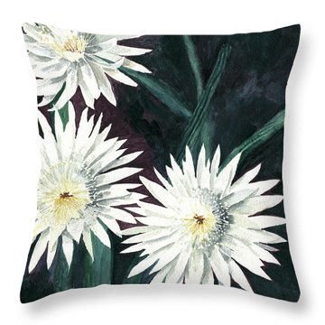 Arizona-queen Of The Night Throw Pillow