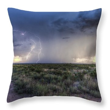 Arizona Storm Throw Pillow