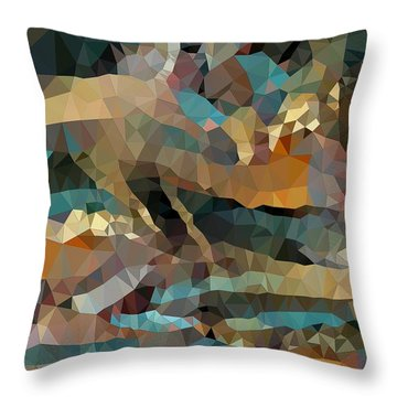 Arizona Triangles Throw Pillow