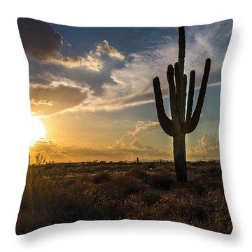 Arizona Vibes Throw Pillow