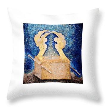 Ark Of The Covenant  Throw Pillow by Alisa Poplavskaya