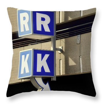 Throw Pillow featuring the photograph Ark - This Way by Nikolyn McDonald