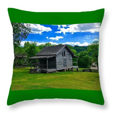 Arkansas Travels Throw Pillow