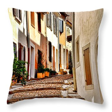 Arles Throw Pillow by Olivier Le Queinec