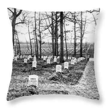 Arlington National Cemetery - C 1867 Throw Pillow by International  Images
