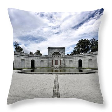 Arlington National Cemetery - Women In Military Service To America Memorial Throw Pillow
