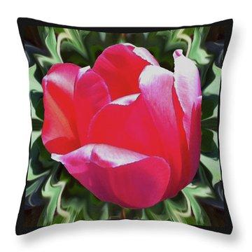 Arlington Tulip Throw Pillow