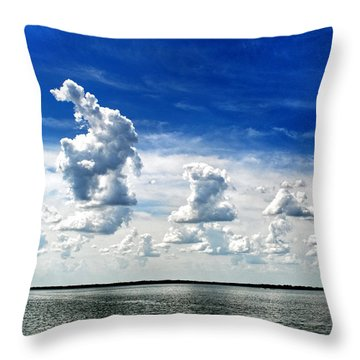 Armada Throw Pillow