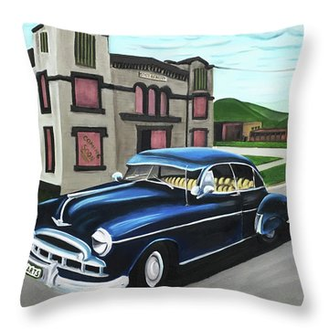 Armory Arts Throw Pillow