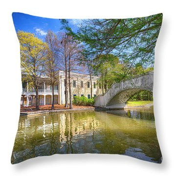 Armstrong Park, New Orleans, La Throw Pillow