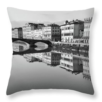 Arno Reflections 1 Throw Pillow