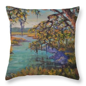 Aroma Throw Pillow