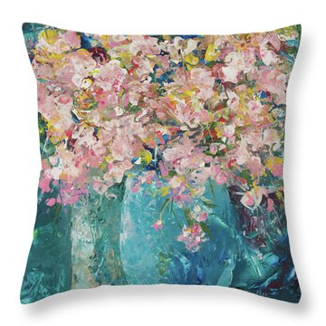 Aroma Therapy Throw Pillow