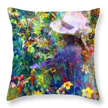 Aromatherapy Throw Pillow