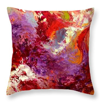 Aromatic Mixtures Throw Pillow