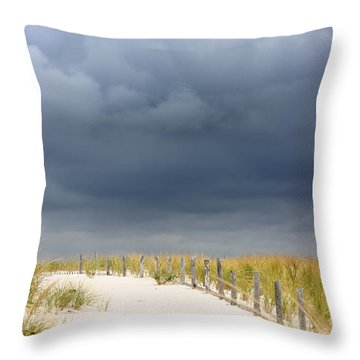 Throw Pillow featuring the photograph Around The Bend by Dana DiPasquale