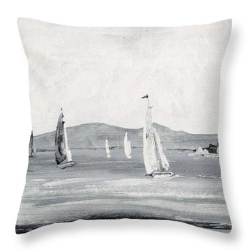 Around The Cape Throw Pillow