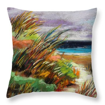 Around The Dune Throw Pillow by John Williams