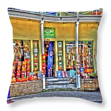 Around The World Marketplace Saint Augustine Throw Pillow