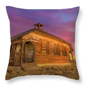 Aroya Sunrise Throw Pillow