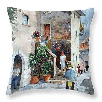 Arrezo-3 Throw Pillow