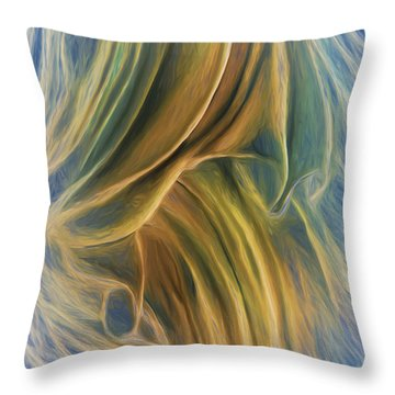 Arrhythmia And Blues Throw Pillow