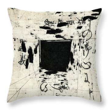 Arrhythmic Number One Throw Pillow