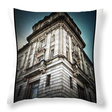 Arris Vi Throw Pillow by Donald Yenson