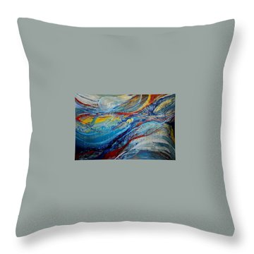Arrive Throw Pillow