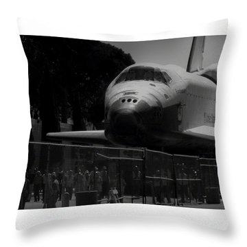 Arriving Home Throw Pillow