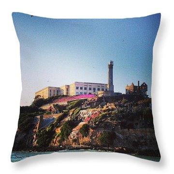 Night Tour Throw Pillow