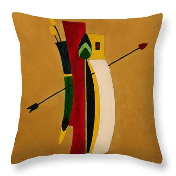 Arrow's Advantage Throw Pillow