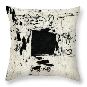 Arrythmic Number Two Throw Pillow