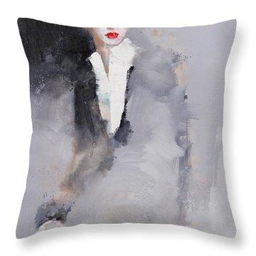 Photographed Throw Pillow