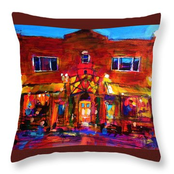Art Bar Throw Pillow