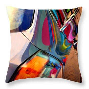 Art Car Throw Pillow by David Gilbert