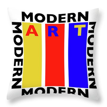 Art Throw Pillow by Charles Stuart