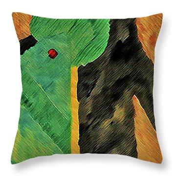 Art Deco #2 Throw Pillow